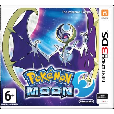 Pokemon Moon [3DS, английская версия]