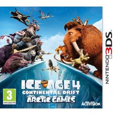 Ice Age 4: Continental Drift - Arctic Games [3DS, английская версия]
