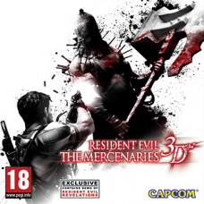 Resident Evil: The Mercenaries 3D [3DS, английская версия]