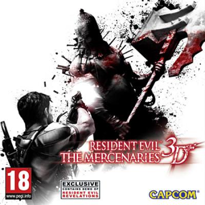 Resident Evil: The Mercenaries 3D [3DS, английская версия]