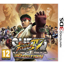 Super Street Fighter IV: 3D Edition [3DS, русская документация]