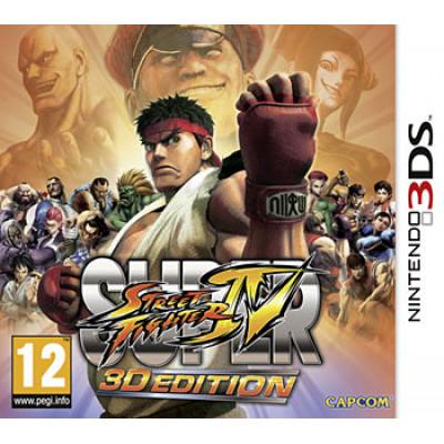 Игра для Nintendo 3DS Super Street Fighter IV: 3D Edition (русская документация)