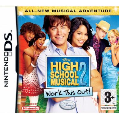 High School Musical 2: Work This Out! [DS, английская версия]