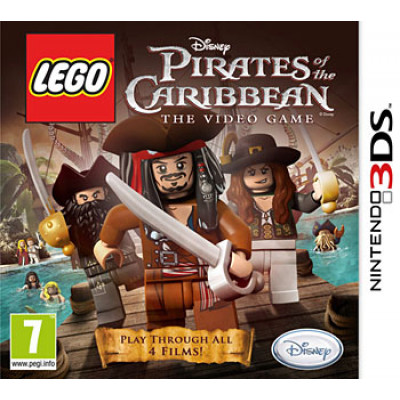 LEGO The Pirates of the Caribbean: The Videogame [3DS, английская версия]