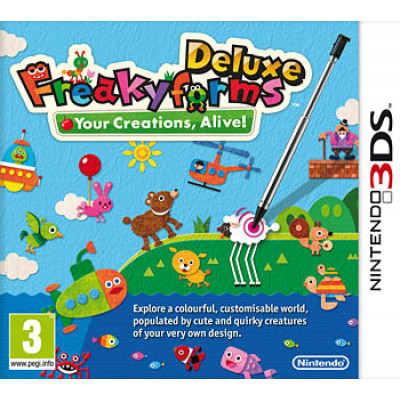 Freaky Forms Deluxe Your Creations, Alive! [3DS, английская версия]