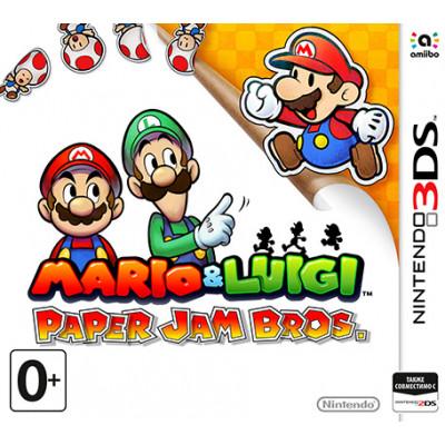 Mario & Luigi: Paper Jam Bros [3DS, русская версия]