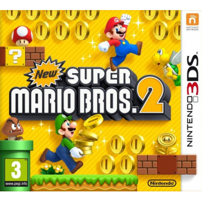 Игра для Nintendo 3DS New Super Mario Bros 2 (русская версия)