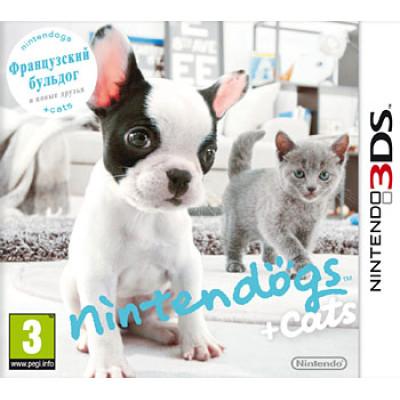 Nintendogs+Cats: Французский бульдог и новые друзья [3DS, русская версия]