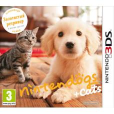 Nintendogs+Cats: Голден-ретривер и новые друзья [3DS, русская версия ]