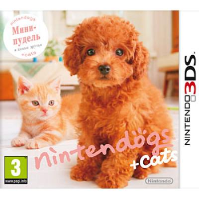 Nintendogs+Cats: Карликовый пудель и новые друзья [3DS, русская версия]