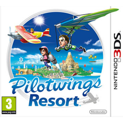 Pilotwings Resort [3DS, русская документация]