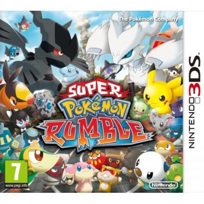 Super Pokemon Rumble [3DS, английская версия]