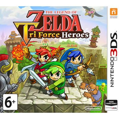 The Legend of Zelda: Tri Force Heroes [3DS, русская версия]