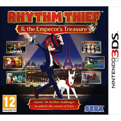 Rhythm Thief & Emperor's Treasure [3DS, английская версия]