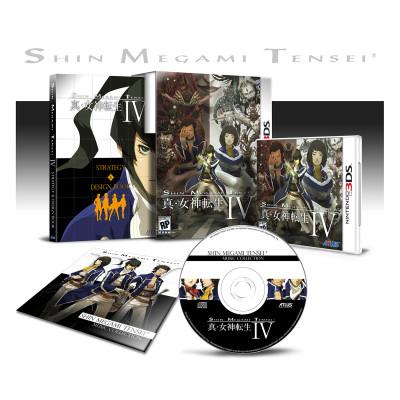 Shin Megami Tensei IV. Limited Edition [3DS, американское издание]