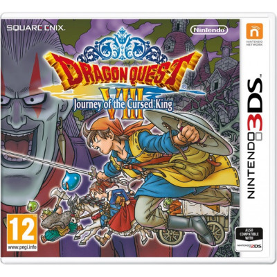 Dragon Quest VIII: Journey of the Cursed King [3DS, английская версия]