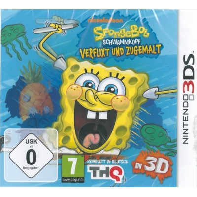 Игра для Nintendo 3DS SpongeBob Squigglepants