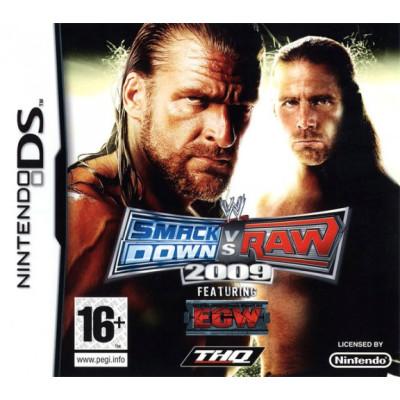 WWE SmackDown vs Raw 2009 [DS, английская версия]