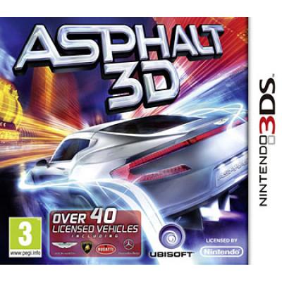 Asphalt 3D [3DS, английская версия]