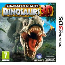 Combat of Giants: Dinosaurs 3D [3DS, английская версия]