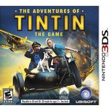 The Adventures of Tintin: Secret of The Unicorn [3DS, английская версия]