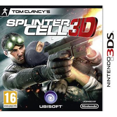 Tom Clancy's Splinter Cell 3D [3DS, английская версия]