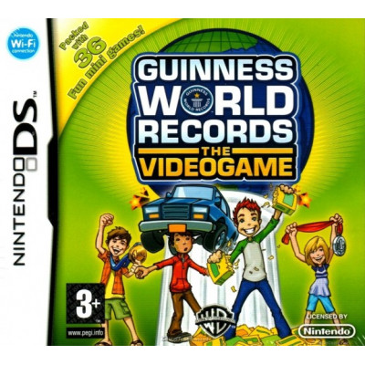 Guinness World Records the Videogame [DS, английская версия]