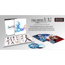 Final Fantasy X/X-2 HD Remaster. Collector's Edition [PS3,XBOX 360, Square Enix Online Store Exclusive]