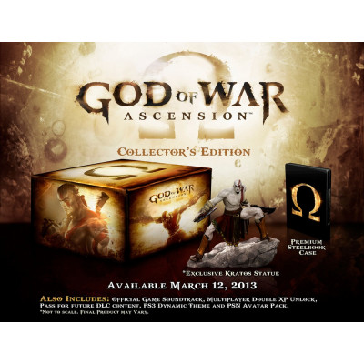 God of War: Ascension. Collector's Edition [PS3, американская версия]