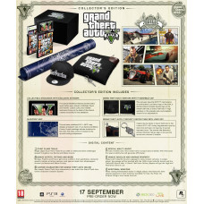 Grand Theft Auto V. Collector's Edition [PS3,XBOX360, европейская версия]