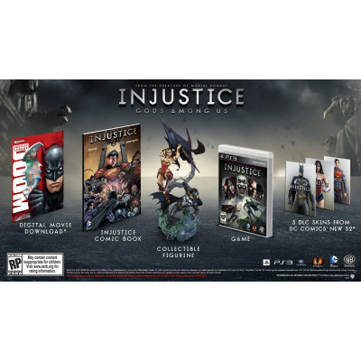 Injustice: Gods Among Us. Collector's Edition [PS3,XBOX360, американская версия]