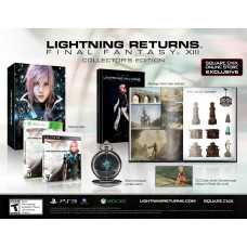 Lightning Returns: Final Fantasy XIII. Collector's Edition [PS3,XBOX 360, Square Enix Online Store Exclusive]