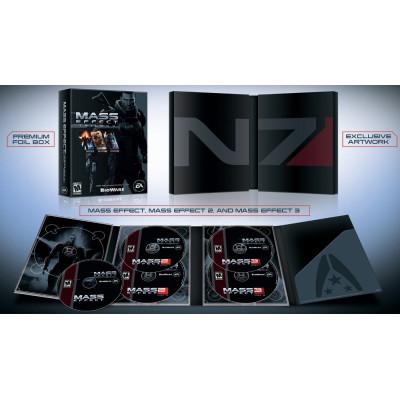 Mass Effect Trilogy [PC,PS3,XBOX360, американская версия]