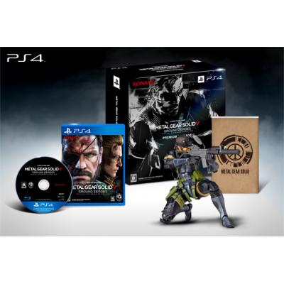 Игра Konami Metal Gear Solid V: Ground Zeroes. Premium Package [PS4,PS3, XBOX 360, японская версия]