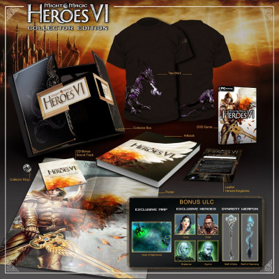 Heroes of Might and Magic VI. Collector's Edition [PC, английская версия]