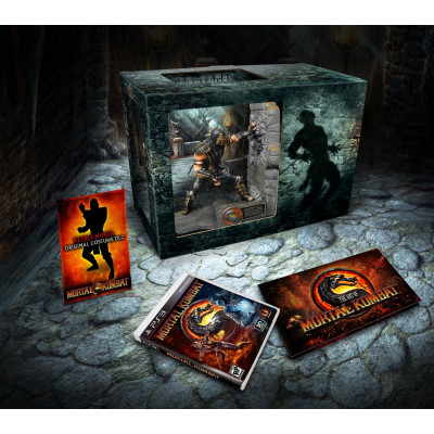 Mortal Kombat. Kollector's Edition [PS3,XBOX360, американская версия]
