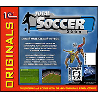 Total Soccer 2000 (1С:Snowball ORIGINALS) [PC, Jewel, английская версия]