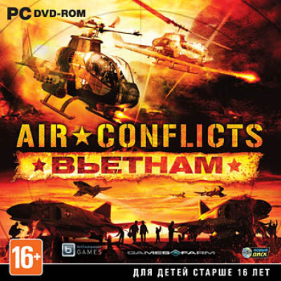 Air Conflicts: Вьетнам [PC, Jewel, русские субтитры]