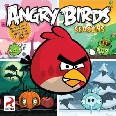 Игра для PC Angry Birds: Seasons (русская версия)