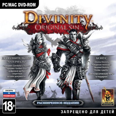 Divinity: Original Sin [PC, Jewel, английская версия]