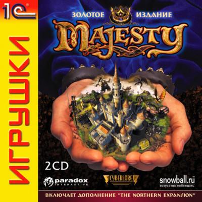 Majesty: Золотое издание [PC, Jewel, русская версия]