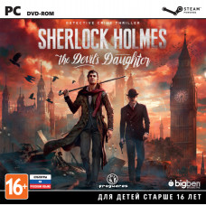 Sherlock Holmes: The Devil's Daughter [PC, Jewel, русские субтитры]