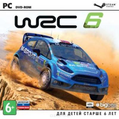 WRC 6 FIA World Rally Championship [PC, Jewel, русская документация]