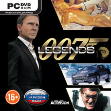 007 Legends [PC, Jewel, русская версия]