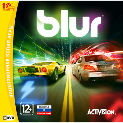 Blur [PC, Jewel, русская версия]