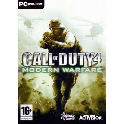 Call of Duty 4: Modern Warfare [PC, русская документация]