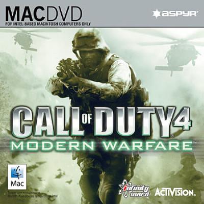 Call of Duty 4: Modern Warfare (версия для MAC) [PC, Jewel, английская версия]