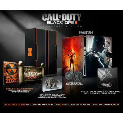 Call of Duty: Black Ops II. Hardened Edition [Xbox 360, русская версия]