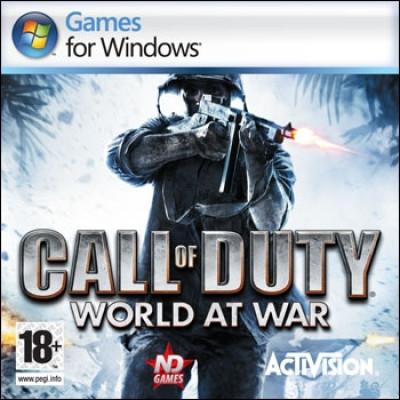 Call of Duty: World at War [PC, Jewel, русская версия]