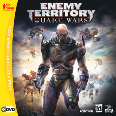 Enemy Territory: Quake Wars [PC, Jewel, русская версия]